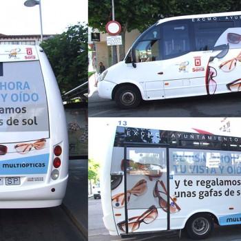 Espacios rotulables en Bus