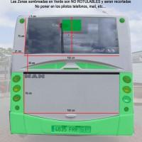 Trasera Bus Man Integral