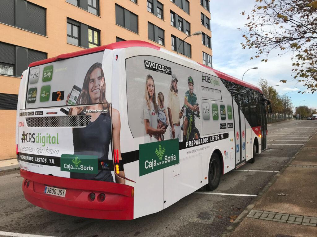 publicidad autobuses urbanos soria